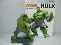 hulk anime figure made by pvc  free shipping by air mail 100%guaranteed