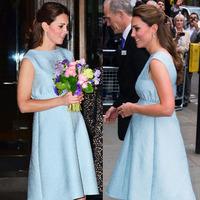 Pregnant Woman Princess Kate Women's Dress Soild Color Plus Size Summer Sleeveless Dress 1313
