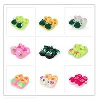 New 2014 Brand Baby Shoes Girls Shoes First Walker Smart Cartoon Animation Baby Boy Shoes Manual Knitting 24Styles Free Shipping