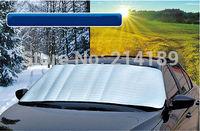 Car Front Rear Window Windshield Visor Auto Sun Shade Cover Fold Foil 70*150 cm