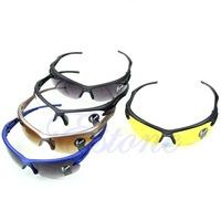 J34 Free Shipping New Hot Motocycle Cycling Riding Running Sports UV Protective Goggles Sunglasses