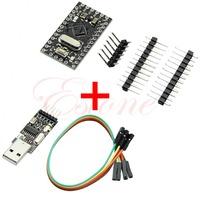 J34 Free Shipping USB2.0 To TTL 6Pin CH340G Converter + Pro Mini Atmega328 5V 16M For Arduino