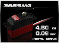 500 Helicopte Swash Plate Servos, Digital Servo,Copper & Aluminum Gear Digital Servo,Torque 4.8KG,Speed 0.09Sec,POWER HD-3689MG