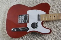 free shipping New arrival Top quality red tele guitar Ameican standard telecaster electric Guitar in stock