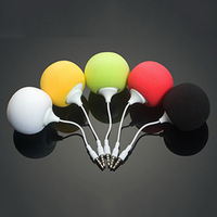 Retail New Fashion Colorful Mini Balloon Speaker Cute Music Ball Portable Stereo Speaker for Phone Computer free shipping
