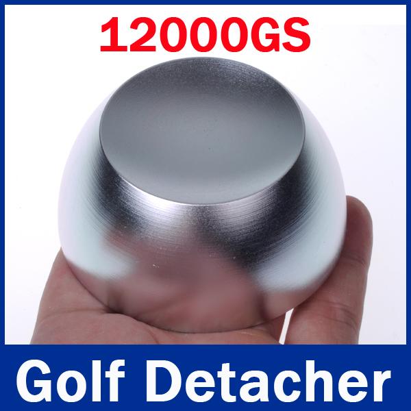Супер гольф деташер безопасности теги деташер гольф деташер EAS теги удаления магнитного поля 12, 000GS цвет серебристый