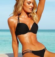 2014 NEW Fashion swimwear Brand Bra Woman Sexy print bikinis set PAD Swimsuits Sport Fringe Top Swimwear Beachwear!@00009