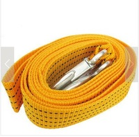 Car rescue rope 3 meters trailer rope nylon rope 3 trailer traction rope car pulling rope