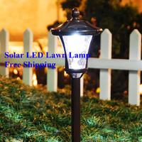 Solar Light Control LED Garden Lawn Lights Outdoor Park Yard Landscape Light Household Super Bright Waterproof Solar Lamp