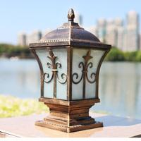 Lamp post caplights outdoor wall light garden lights waterproof lamp post railing lamp column light afterward lamp