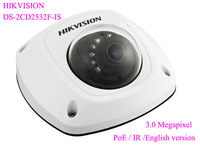 HIKVISION DS-2CD2532F-IS HD 1080P 3.0MP IP66 Mini Dome Network IP Camera POE IR