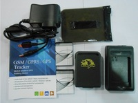 Gps tracker tk102B 2 sets Battery 2  charger free shipping