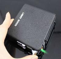 Free shipping auto magic cigarette case with lighter,auto cigarette box holder can hold 20pcs cigarette