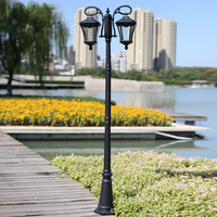 Fashion garden light landscape lamp outdoor pole lamp strightlightsstreetlights project light villa lamp