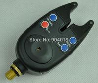Wholesale 10Pcs NEW Wireless Fishing Bite Alarm Tackle LED Audio Visual Alert With 2.5mm Jack