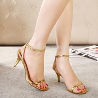 hot sales! 2014 new fashion gentlewomen elegant cutout stiletto sandals high heels shoes women free shipping