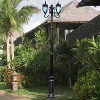 Garden lights fashion strightlightsstreetlights outdoor lamp waterproof lamp high pole lamp outdoor lamp lawn lamp