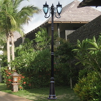 Garden lights fashion strightlightsstreetlights outdoor lamp waterproof lamp high pole lamp outdoor lamp lawn lamp