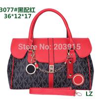 free shipping, 002 # Desgienr Brand 2014 newest colours, have 8 colours,  Plaid women handbag, ladies handbags Wholesale,