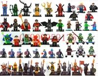 Castle Star War Captain America Super Hero Teenage Mutant Ninja Turtles Minifigure 49pcs/lot Building Blocks