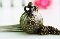 Harry potter ball Bronze antiques Charming Pocket watch necklace good quality Men pendant watch clock