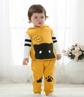 New Arrival Children's  Spring Autumn Sets Girls boys Fashion Cartoon three pieces sets