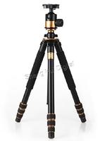 """New Carbon fiber tripod Q-1000C SLR camera tripod,professional portable digital camera tripod Q1000C,Max:64.2"""" 5D 3 D750 7D II"""
