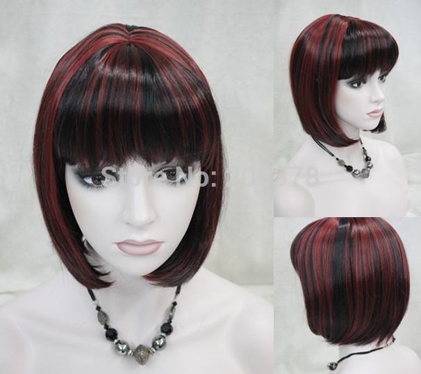 Burgundy Highlights On Dark Brown Hair Medium Dark Brown Hair Brown ...