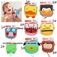 2014 Newest 8 Styles Choose Animal Design Baby Bathes Brushes Soft Cotton Baby Bathes Brushes 5pcs/lot Free Shipping TY-14018
