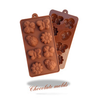 Super-affordable  silicone mould of insects Chocolate cake molds Kitchen Baking Tools Free shipping