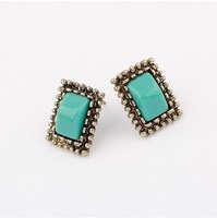 YXSP1554     2014 new fashion   Fashion style Quartet    earring for women