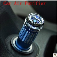 Free Shipping Professional 12V Mini Auto Car Fresh Air Purifier Oxygen Bar Lonizer Cleaner 4 color