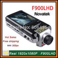 "Newest Full HD 1920 * 1080P 30fps 2.5"" TFT LCD 12MP Night Vision Motion Detection Car Camera Video Recorder F900 Novatek Chipset"