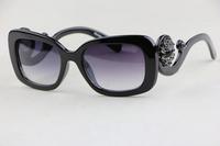 Ms. sunglasses SPR33P Plate square frame Gorgeous Luxurious Small fresh style  Elegant Cute Anti-UV