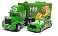 Pixar cars 2 Toys Diecast Metal MACK hauler MACK TRUCK + Chick Hicks Racing NO.86# Kids TOY