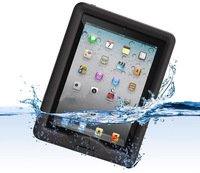 New arrival free shipping!For Ipad 2 3 4 case New Life Time Water Snow Drop Dirty proof Case Cover Skin for Iphone Ipad