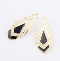 YXSP1563    2014 new fashion   Metal drip exaggerated fashion diamond    earring for women