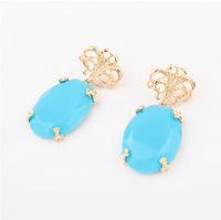 YXSP1570       2014 new fashion   Sapphire    earring for women