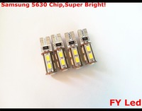 Free Shipping 10Pcs T10 9SMD CANBUS 5630 12V Car interior LED Parking Width Liscence Lamps