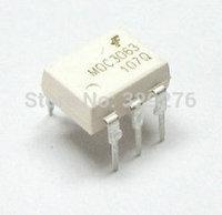 Free Shipping 100pcs MOC3063 MOC3063M DIP-8 Driver Output Optocoulper IC