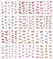 Random Send      Nail art supplier sell SY series nail gel sticker