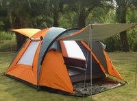 Hot sale 4 person quick automatic camping tent,outdoor tent,high class tent, double auto tent,Free shipping