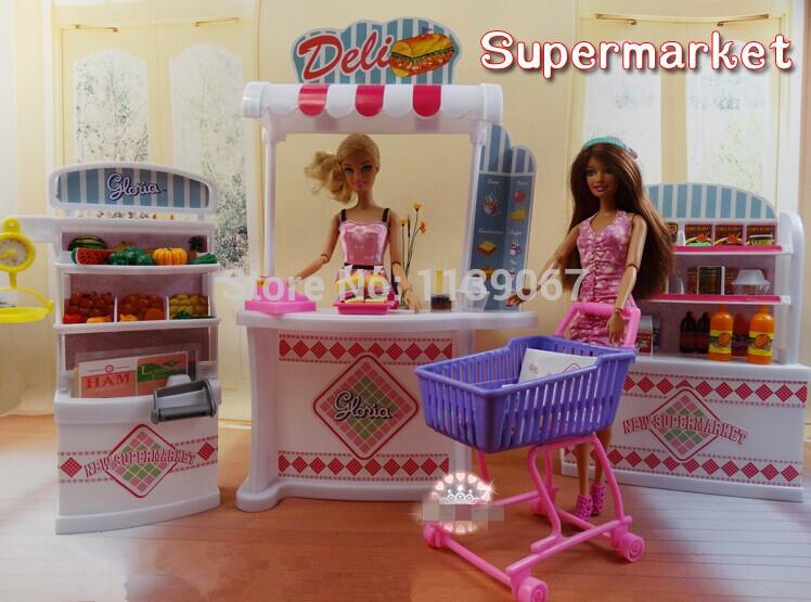 Barbie Slaapkamer Meubels : Barbie Doll Display Stands