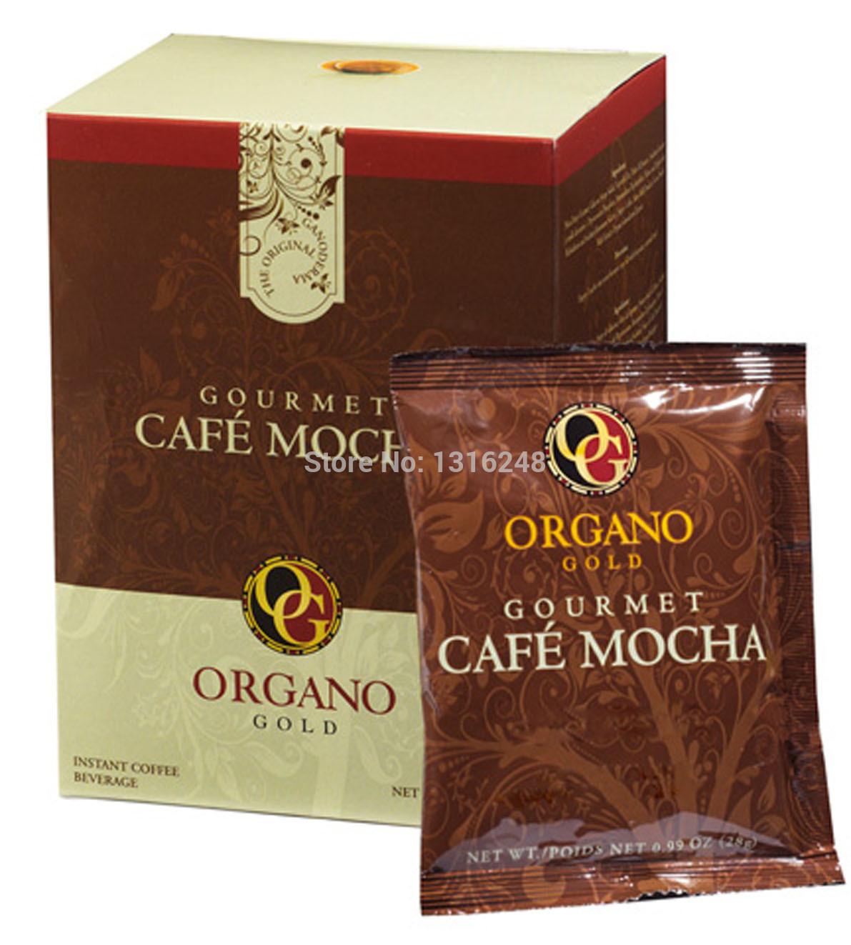 Organo Gold organic gold ganoderma lucidum health coffee select mocha coffee 420g Free Shipping