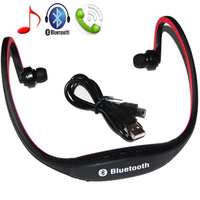 Universal Sport Stereo Wireless Bluetooth Headset Headphone for iPhone 5/4 galaxy S3 S4 S5 for Smartphone Laptop Tablet