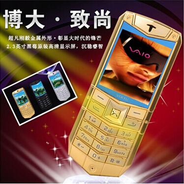 fashional A1 bar luxury phone 2.3 inch dual SIM card slot mobile phone free shipping(China (Mainland))