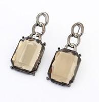 YXSP1595       2014 new fashion  Punk Metal Square     earring for women