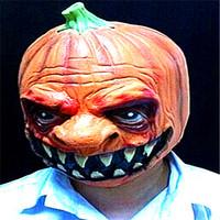 Free shipping Cosplay halloween pumpkin mask pumpkin classic ghost mask wigs