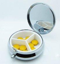 cheap round pill box