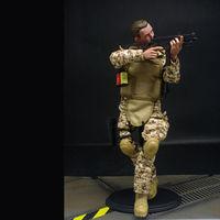 """12"""" 1/6 Soldier Derser ACU Action Figure Model Military Combat Suit Retail Box"""